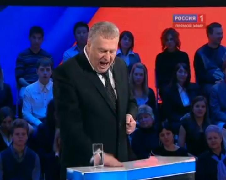 Дебаты жириновского и Пугачевой